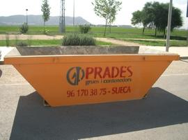 Servicio de contenedores residuos en Sueca, Alzira, Cullera, Tavernes, Silla, Algemesí, Favara, Carcaixent, Alginet, ...