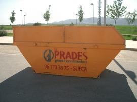 Servicio de contenedores residuos en Sollana, Almussafes, Benifaió, Albalat, ...
